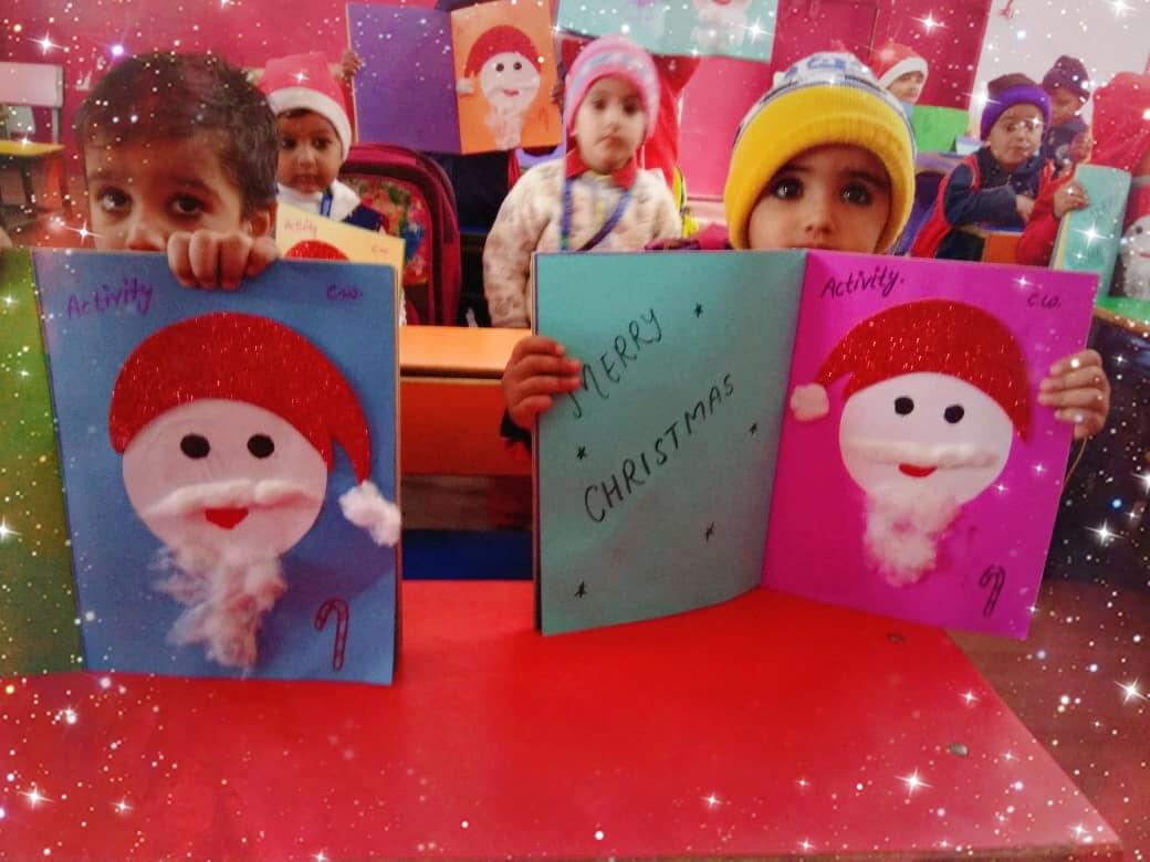 Christmas craft and fun activities