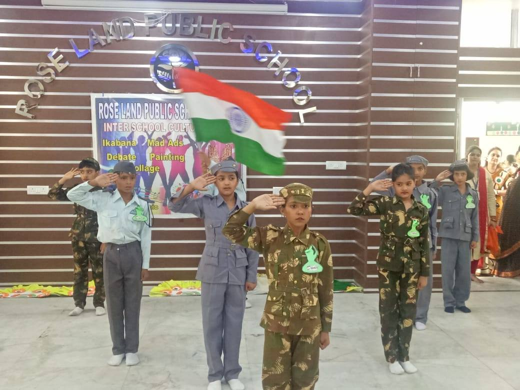 Inter school cultural fest participation. 6