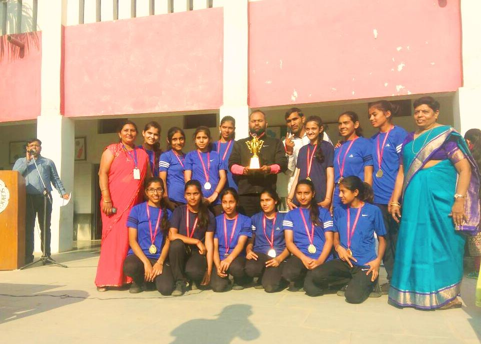"Our School girls Kho-kho under 19 team won in 'Inter-School Kabaddi and Kho-Kho Tournament-2017"", held in the Roseland Public School."