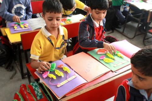 Deepawali Craft Activities 2018   8