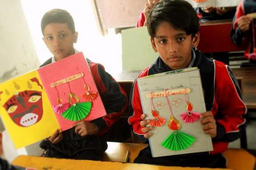 Deepawali Craft Activities 2018    12