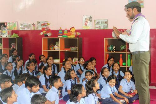Hindustan Scouts and Guides trains the Boy and Girl Programme-Pragatisheel Prashikshan 11