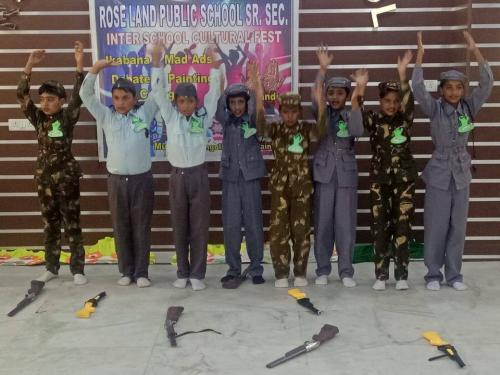 Inter school cultural fest participation. 4