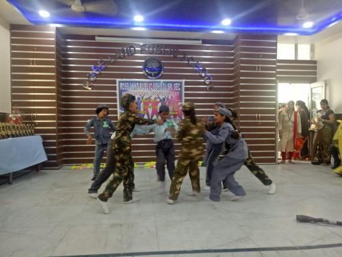 Inter school cultural fest participation. 9