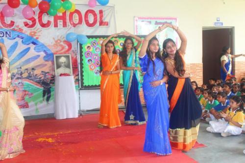 Teacher's day celebration in school 1