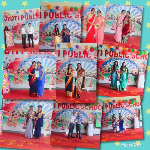 Teacher's day celebration in school 2