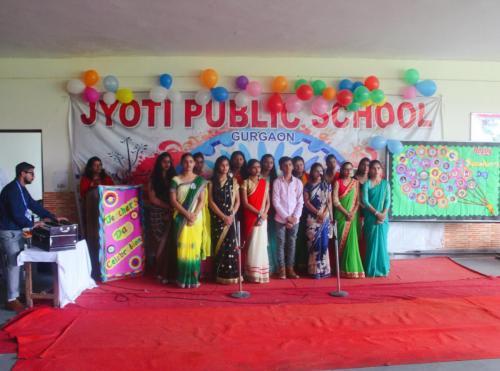 Teacher's day celebration in school 4