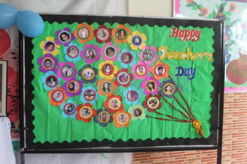 Teacher's day celebration in school 8