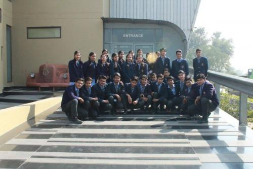 Students of class 9th and 10th visited Heritage Transport Museum, as a part of their tourism project.